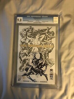 Walking Dead #94 Cgc 9.8 Image Expo Michonne Sketch Cover