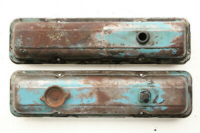 59-86 Chevy Small Block Valve Covers Rocker Covers Factory 283 307 327 350