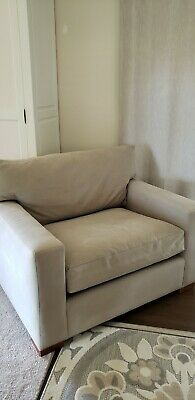 Crate And Barrel Axischair Color Iron Very Lightly Used No Pets. Kids Or Smoking