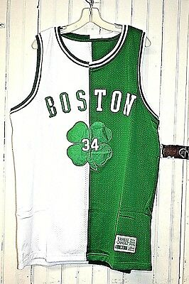 2004 Yankee Candle Limited Edition Paul Pierce Boston Celtics Jersey White/green