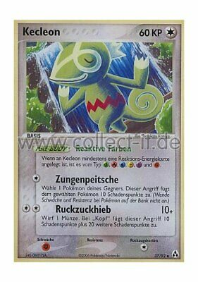 Pokemon EX Legend Maker 37/92 - Kecleon Deutsch