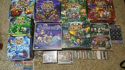 Arcadia Quest & Masmorra Massive Collection! All Expansions/promos! Very Rare!