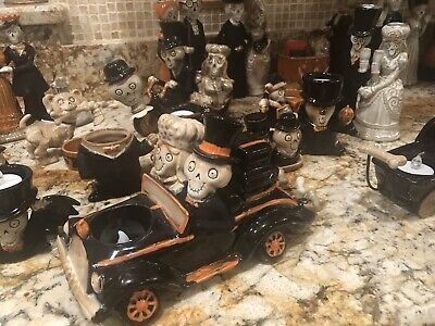 Boney Bunch Collection Lot Halloween Yankee Candle