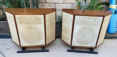 Vintage Acoustic Research Ar Lst Speakers Org Rare Read