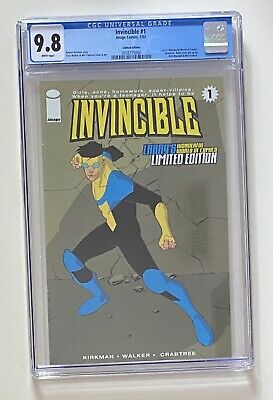 Invincible #1 Larry's Variant Edition Cgc 9.8 Image Skybound Kirkman Free Ship