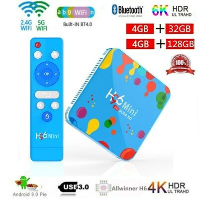 H96 Max Mini Android9.0 Tv Box 32/128g Android9.0 Media 4-core 6k Media Lot I0f7