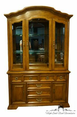 "Thomasville Furniture Villager Collection 54"" Lighted Display China Cabinet 2..."