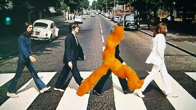 *super Rare* Crunchy Cheeto The Beatles Walking Man With Arms Behind Back