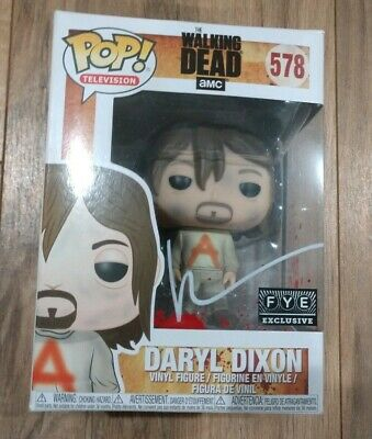 Norman Reedus Signed Autographed Daryl Dixon The Walking Dead Funko Pop #578