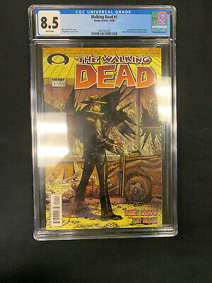 The Walking Dead #1 (2003) Cgc 8.5 First Appearance Of Rick Grimes Image Comics
