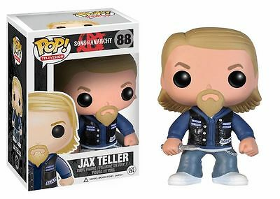 Funko Pop! Television: Sons Of Anarchy Jax Teller Action Figure #88 New In Box