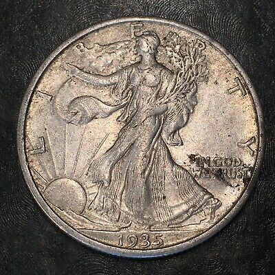 1935-s Walking Liberty Half Dollar - Totally Original -high Quality Scans #h963