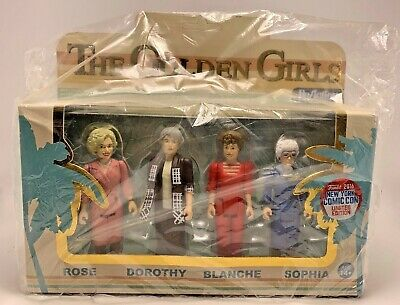 The Golden Girls Funko 2016 Comic Con Exclusive Figure Set (sealed Bag) Reaction