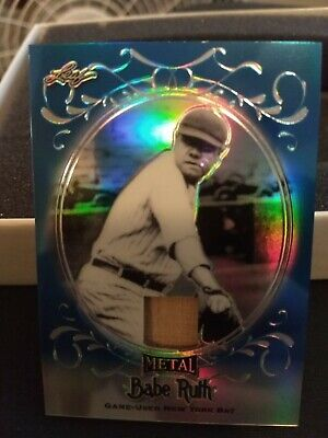 2019 Leaf Metal Babe Ruth Collection  Yankee