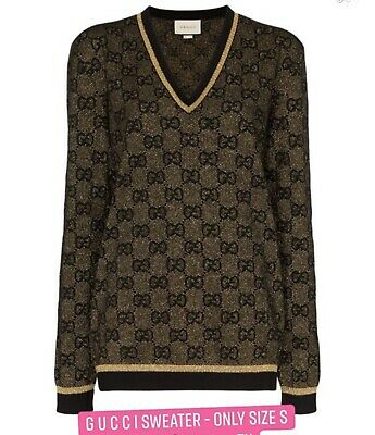 gucci sweater size s 100% authentic, new tag attached