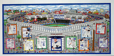 In A Yankee State Of Mind, Charles Fazzino. Hand Signed + Limited Edition Of 300
