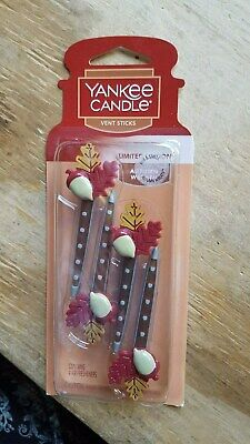 Black Friday Special!   Yankee Candle Vent Sticks: Autumn Wreath