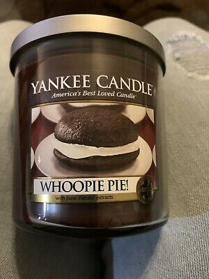"""Yankee Candle Retired """"whoopie Pie""""~~white Label~ Rare~vhtf~ New"""
