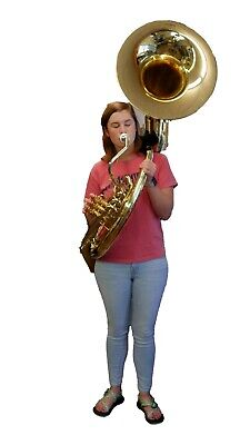 Bb  3/4 Sousaphone Perfect For  Mexican Banda-street Band-middle School  Players