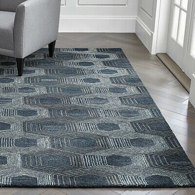 Area Rugs Crate And Barrel Dez Grey Cowhide Hand Made Carpet Free Delivery Usa