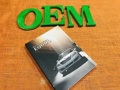 2015 Hyundai Equus Owners Manual Only ((fast Priority Ship)) 🚘📚🙏v8