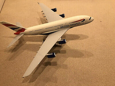 British Airways Ba Pacmin A380 1:100 Model - Mint Condition (very Rare)