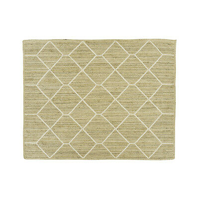 Area Rugs New Kalina White Indoor/outdoor Jute Dhurry Rugs Crate