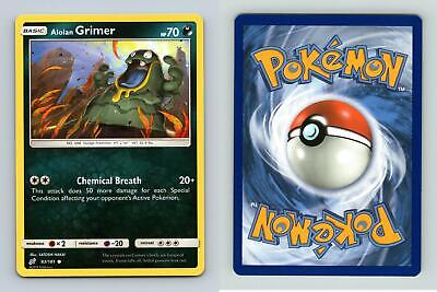 Alolan Grimer #83/181 Sun & Moon Team Up Common Pokemon 2019 TCG Card