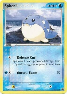 Spheal - 65/108 - Common PL Power Keepers Pokemon 2B3