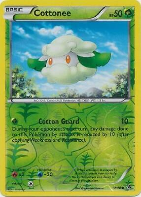 Cottonee - 10/98 - Common Reverse Holo Near Mint Emerging Powers Pokemon 2B3