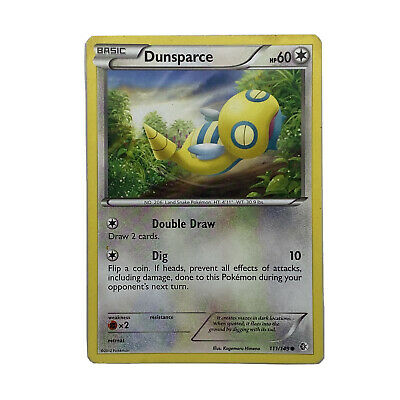 Dunsparce 111/149 B&W Boundaries Crossed Pokemon Card TCG