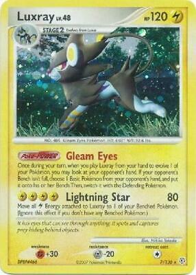 Luxray - 7/130 - Holo Rare PL Diamond & Pearl Pokemon 2GQ
