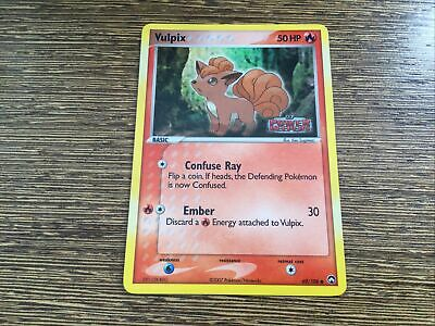 Pokemon Card Vulpix 69/108 EX POWER KEEPERS Reverse Holo Stamp NM/M