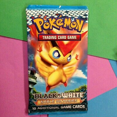 Pokemon ==> Noble Victories (Victini) <== Sealed 10-Card Booster Pack X1
