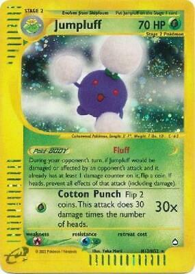 Jumpluff -  H13/H32  - Holo NM Aquapolis Pokemon