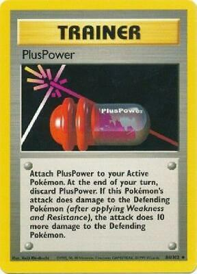 PlusPower - 84/102 - Uncommon NM Base Set Pokemon 2B3