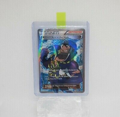 Archie's Ace in the Hole 157/160 Trainer - Primal Clash 2015 POKEMON Card NM