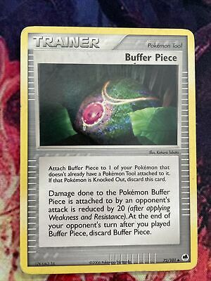 Buffer Piece - Dragon Frontiers 72/101 Pokemon Card PLAYED