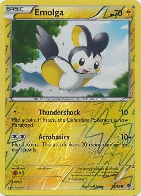 Emolga - 32/98 - Common Reverse Holo Near Mint Emerging Powers Pokemon