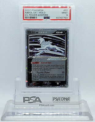 Pokemon EX POWER KEEPERS ABSOL EX #92 ULTRA RARE HOLO FOIL PSA 9 MINT #40767754