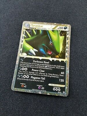 Pokemon Card Holo Tyranitar Prime 88/95 EXCELLENT HS Unleashed