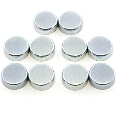 17mm Stainless Steel Cup Freeze Core Welch Plug Pack 10 Engine Block Rebuild