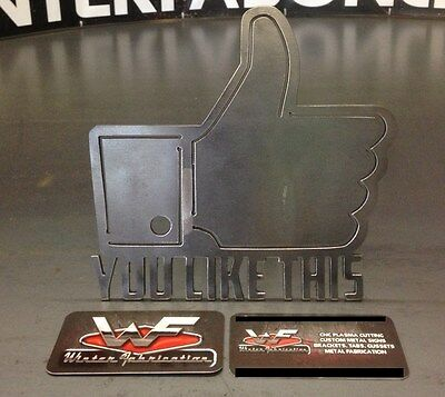 """""""you Like This"""" Hitch Cover - 1/8"""" Steel - Funny Tow Towing Reese Custom"""