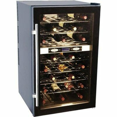 Haier Hvtb40dpabs 40-bottle Thermal Electric Wine Cellar W Dual Storage Compartm