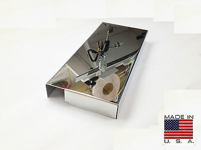 Fits Mustang 2005-2009 Polished Stainless Fuse Box Cover Engine Chrome