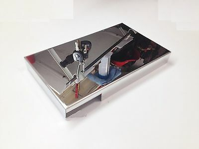 Fits C6 Corvette 2005-2013 Fuse Box Cover Stainless Steel Engine Chrome Ls2 Ls3