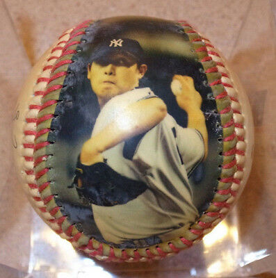 Special Limited Edition Of New York Yankee Chien Ming Wang Signed Baseball