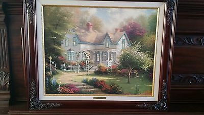 Thomas Kincade Home Is Where The Heart Is Ii  Designer Edition Print 1-2001