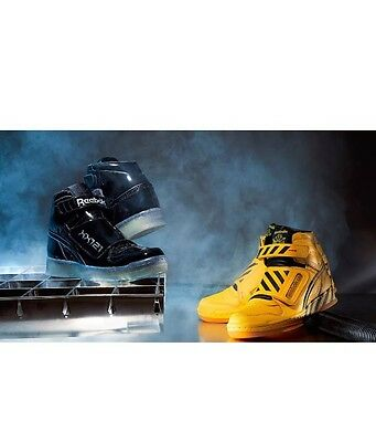 Reebok Alien Stomper Mid Powerloader The Final Scene Pack Black Yellow Size 4-13