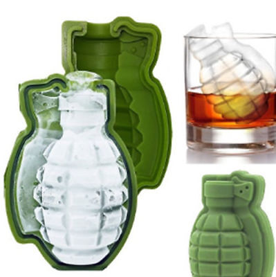 Ice Cube Trays Grenade Shape 3D